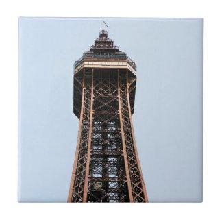 Blackpool Tower souvenir photo Tile