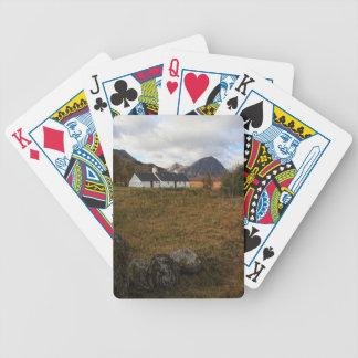 Blackrock Cottage, Glencoe, Scotland Bicycle Playing Cards