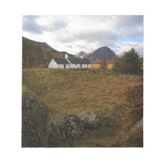 Blackrock Cottage, Glencoe, Scotland Notepad