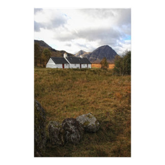 Blackrock Cottage, Glencoe, Scotland Personalized Stationery