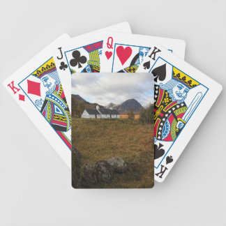 Blackrock Cottage, Glencoe, Scotland Poker Deck