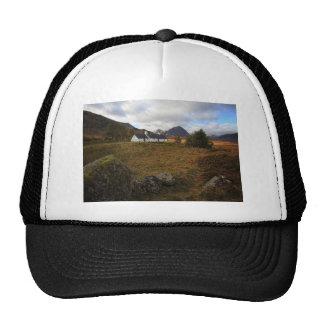 Blackrock Cottage, Glencoe, Scotland Trucker Hat
