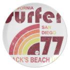 blacks beach california plate
