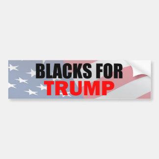 Blacks for Trump Bumper Sticker