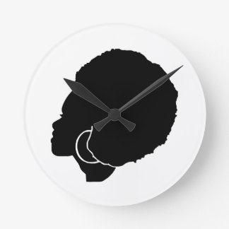 BlackSistah Wall Clock
