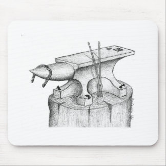 Blacksmith and Farrier Products Mouse Pad