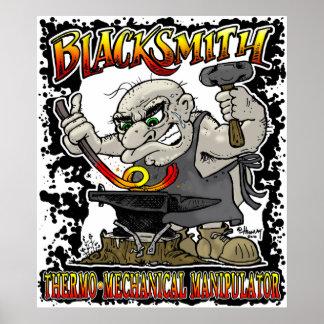 Blacksmith Forge Poster