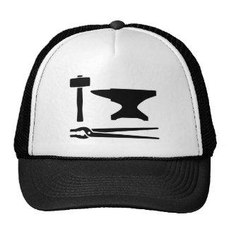 Blacksmith tools trucker hat