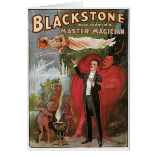 Blackstone, The World's Master Magician, 1934 Card