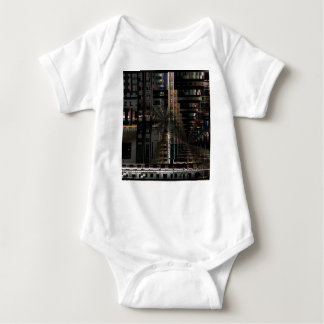 BlackTechnology Circuit Board Electronic Computer. Baby Bodysuit