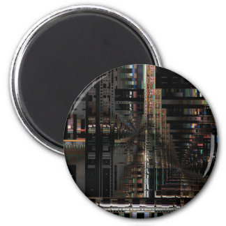 BlackTechnology Circuit Board Electronic Computer. Magnet