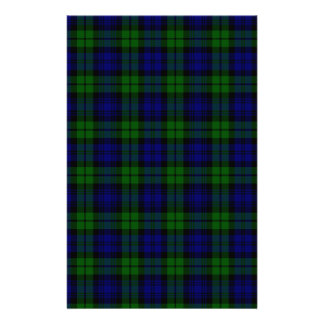 Blackwatch tartan Campbell clan Customized Stationery