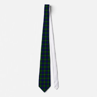 Blackwatch tartan Campbell clan Tie