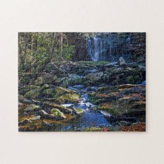 Blackwater Falls scenic photo puzzle