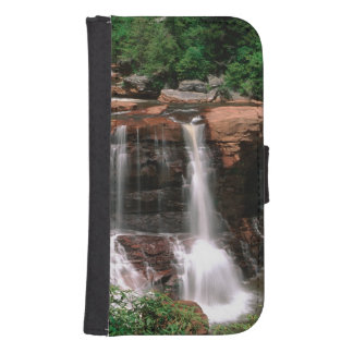 Blackwater Falls, West Virginia, scenic, Galaxy S4 Wallet Cases