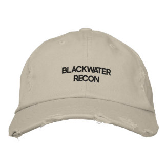 BLACKWATER RECON EMBROIDERED HAT
