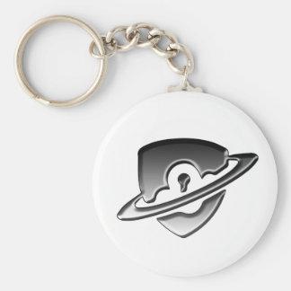 Blackwood Security logo keyring Basic Round Button Keychain