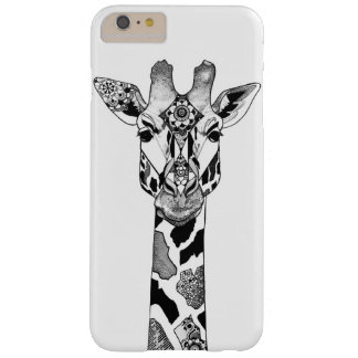 Blackwork Giraffe Phone Case