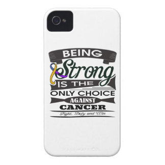 Bladder Cancer Strong is The Only Choice iPhone 4 Cases