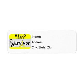 Bladder Cancer Survivor 24.png Return Address Label