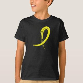 Bladder Cancer's Yellow Ribbon A4 T-Shirt