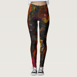 Blades of Fire Leggings by JP Choate