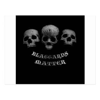 Blaggards Matter Postcard