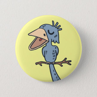 Blah Blah Bird 2 Inch Round Button