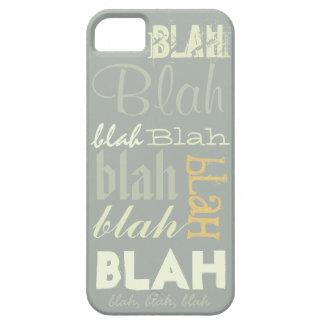 Blah Blah Blah iPhone 5 Cover