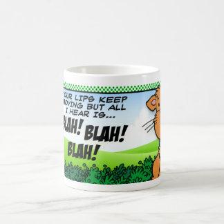 BLAH! BLAH! BLAH! COFFEE MUG