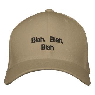 Blah, Blah, Blah Embroidered Hat