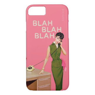 Blah Blah Blah iPhone 7 Case