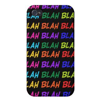Blah Blah Blah iPhone 4/4S Cases