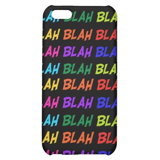 Blah Blah Blah iPhone 5C Covers
