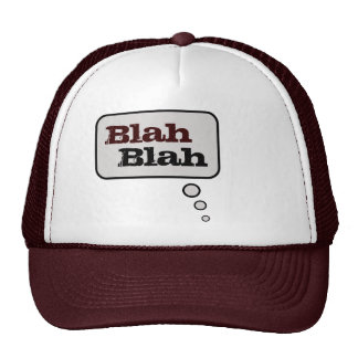Blah Blah Thinking Bubble Hat