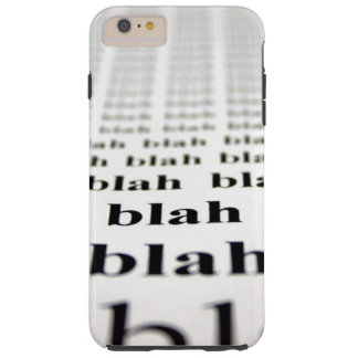 Blah Tough iPhone 6 Plus Case