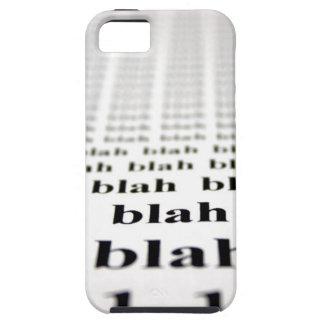 Blah iPhone 5 Case