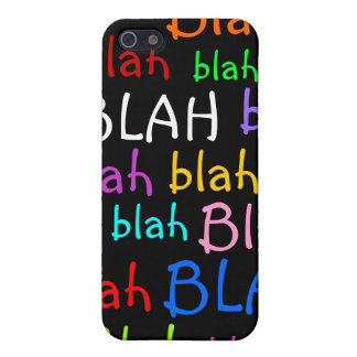 Blah Cases For iPhone 5