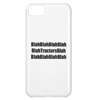 Blah Tractor Blah Tractor Gifts By Gear4gearheads iPhone 5C Cases