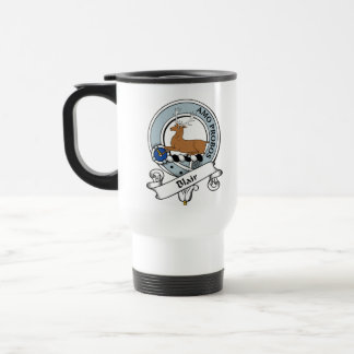 Blair Clan Badge Travel Mug