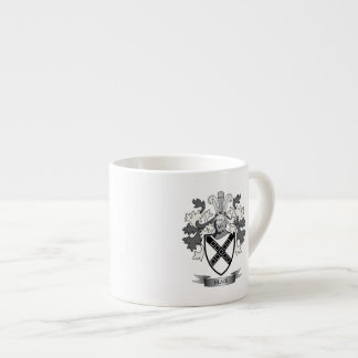 Blair Family Crest Coat of Arms Espresso Cup
