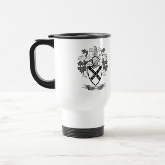 Blair Family Crest Coat of Arms Travel Mug