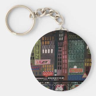 Blair Littlehouse Basic Round Button Keychain
