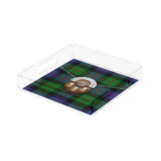 Blair Tartan And Sporran Acrylic Tray