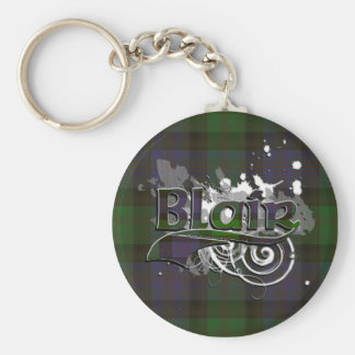 Blair Tartan Grunge Keychain