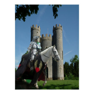 Blaise Castle's Knight Poster