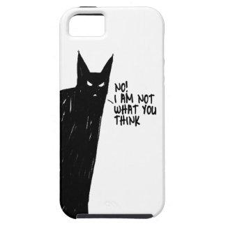 blak cat iPhone 5 cover