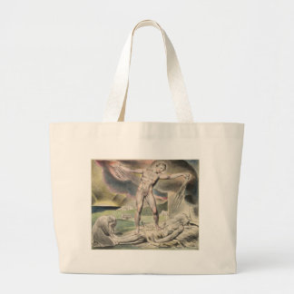 Blake_Book_of_Job_Linell_ Large Tote Bag