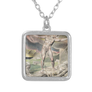 Blake_Book_of_Job_Linell_ Silver Plated Necklace