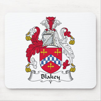 Blakey Family Crest Mouse Pad
